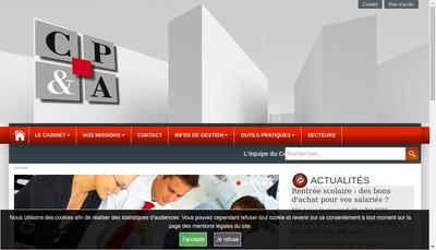 Site internet de Cabinet Peltier et Associes