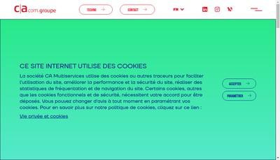 Site internet de Ca Interactive