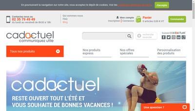 Site internet de Cadactuel