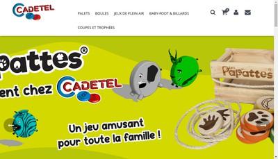 Site internet de Cadetel