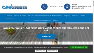 Site internet de Cad'Stores