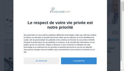 Site internet de Caducee Net