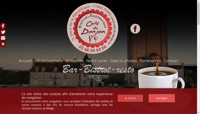 Site internet de Cafe du Donjon