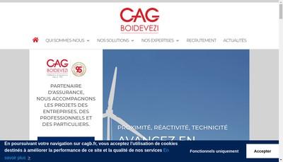 Site internet de Comptoir d'Assurances Generales