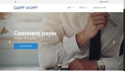 Site internet de Caiff