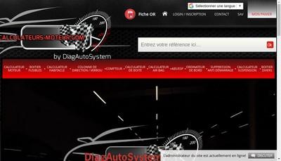 Site internet de Diag Auto System