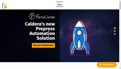 Site internet de Caldera