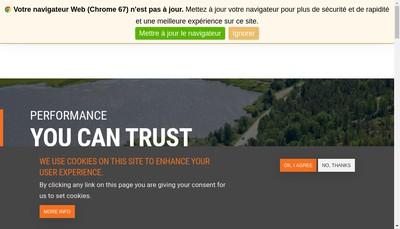 Site internet de Calderys France
