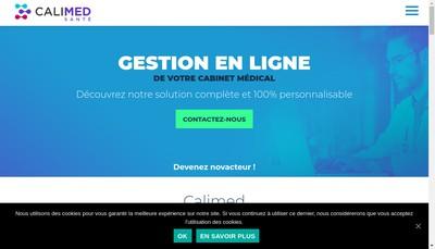 Site internet de Calimed Santé