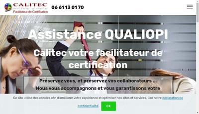Site internet de Calitec