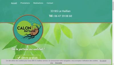 Site internet de Pierre-Emile Calon