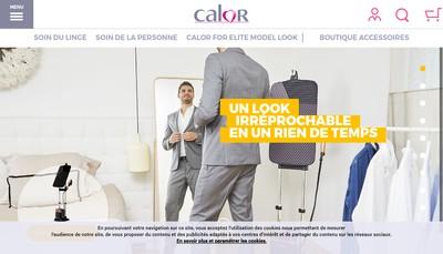 Site internet de Calor SA