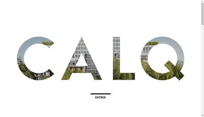 Site internet de Calq Architecture