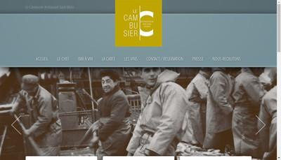 Site internet de Le Cambusier