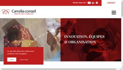 Site internet de Camelia Conseil