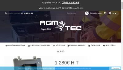 Site internet de Agm Tec