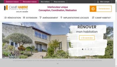 Site internet de Agrandir Ma Maison - Amm