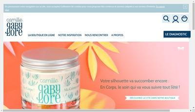 Site internet de Creatissimo Cosmetique