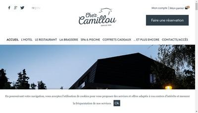Site internet de Hotel Chez Camillou