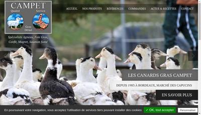 Site internet de Agneaux des Graves Pauillacais