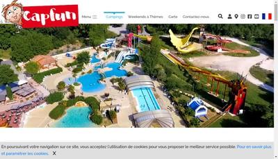 Site internet de Camping Atlantique Parc