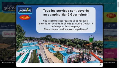 Site internet de Mane Guernehue