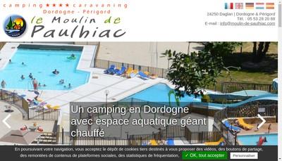 Site internet de Le Moulin de Paulhiac