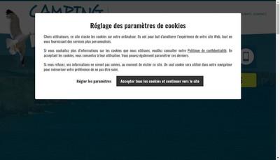 Site internet de Camping le Roz