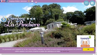 Site internet de Camping la Pindiere