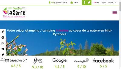 Site internet de Ab2Cp la Serre