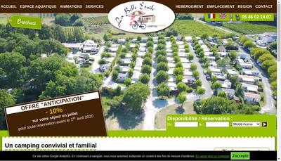 Site internet de La Belle Etoile