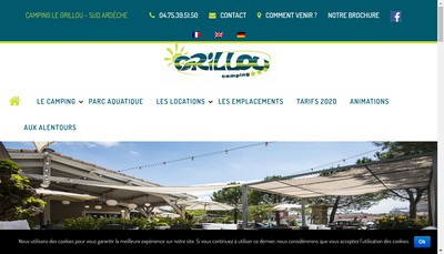 Site internet de Le Grillou