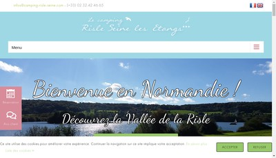 Site internet de Camping Risle-Seine