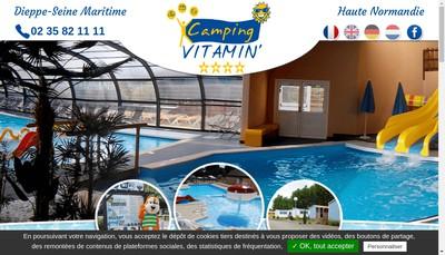 Site internet de Camping Vitamin
