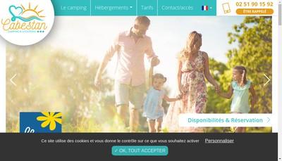 Site internet de Cabestan