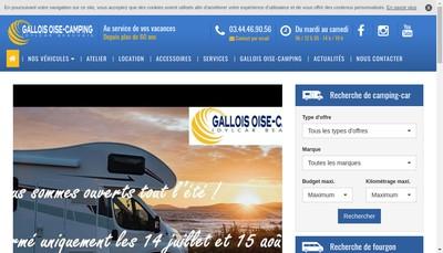 Site internet de Oise Camping