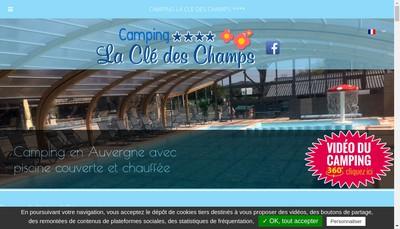 Site internet de La Cle des Champs