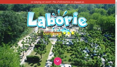 Site internet de Camping de Laborie