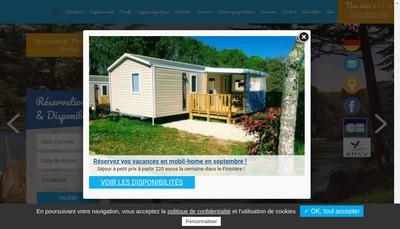 Site internet de Camping de la Grande Lande