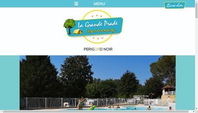Site internet de Camping de la Grande Prade