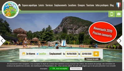 Site internet de Les Grottes