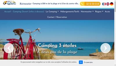 Site internet de Domaine des Roussieres