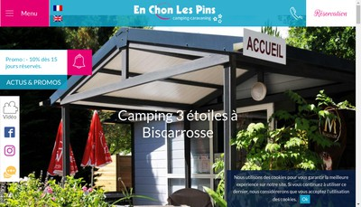 Site internet de Camping en Chon les Pins