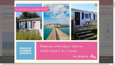 Site internet de Camping de la Fontaine