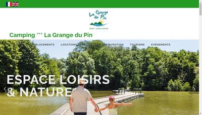 Site internet de La Grange du Pin
