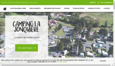 Site internet de La Jonquiere