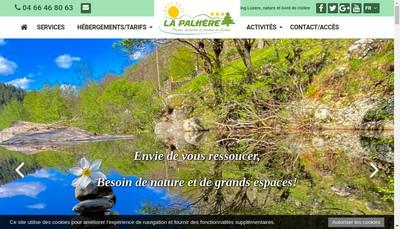Site internet de Camping la Palhere