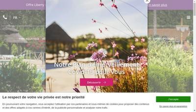 Site internet de L'Hacienda