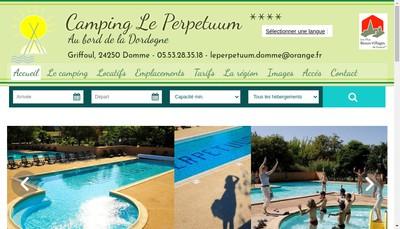 Site internet de Le Perpetuum