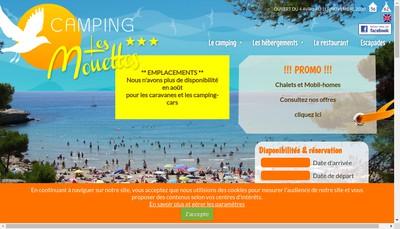 Site internet de Camping les Mouettes